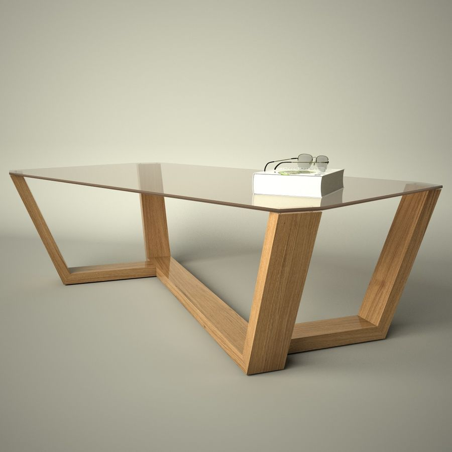 Mesa de café design royalty-free 3d model - Preview no. 12