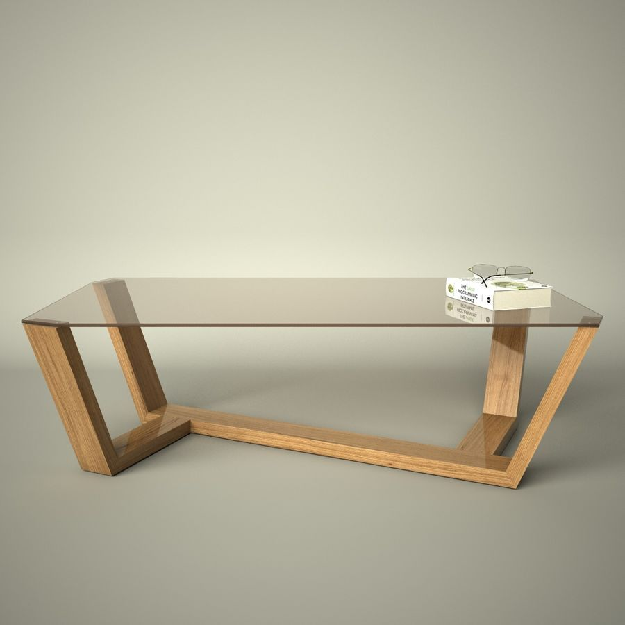 Mesa de café design royalty-free 3d model - Preview no. 11