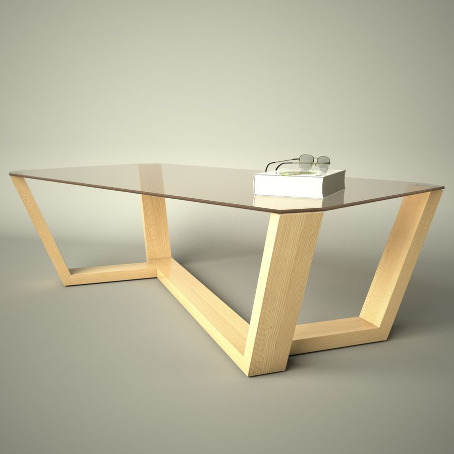 Mesa de café design royalty-free 3d model - Preview no. 16