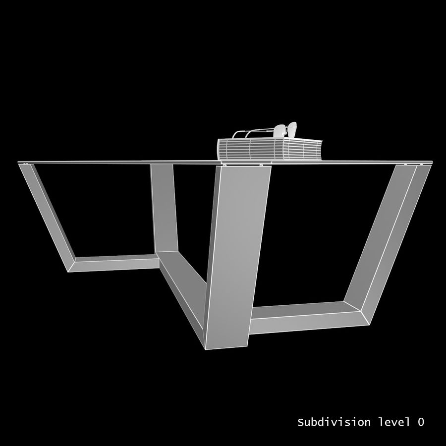 Mesa de café design royalty-free 3d model - Preview no. 1