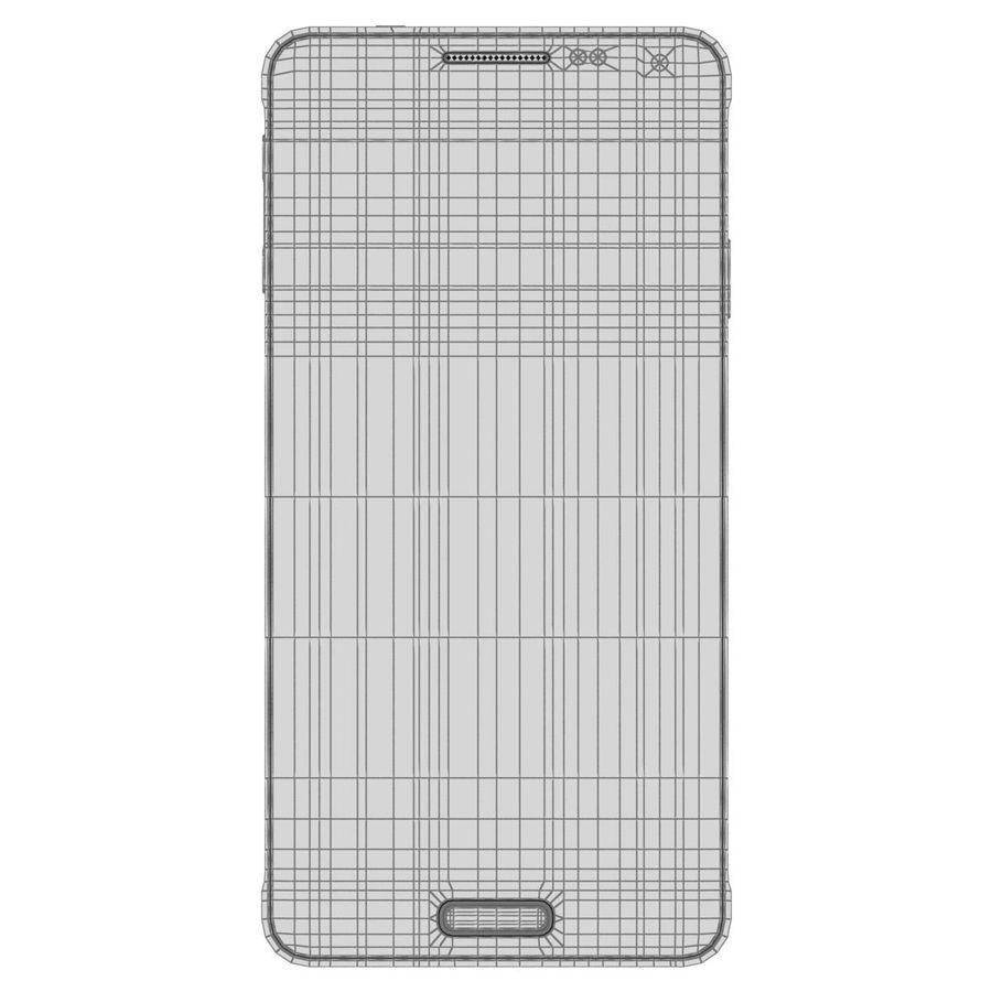 Samsung Galaxy Alpha elegante prata royalty-free 3d model - Preview no. 28