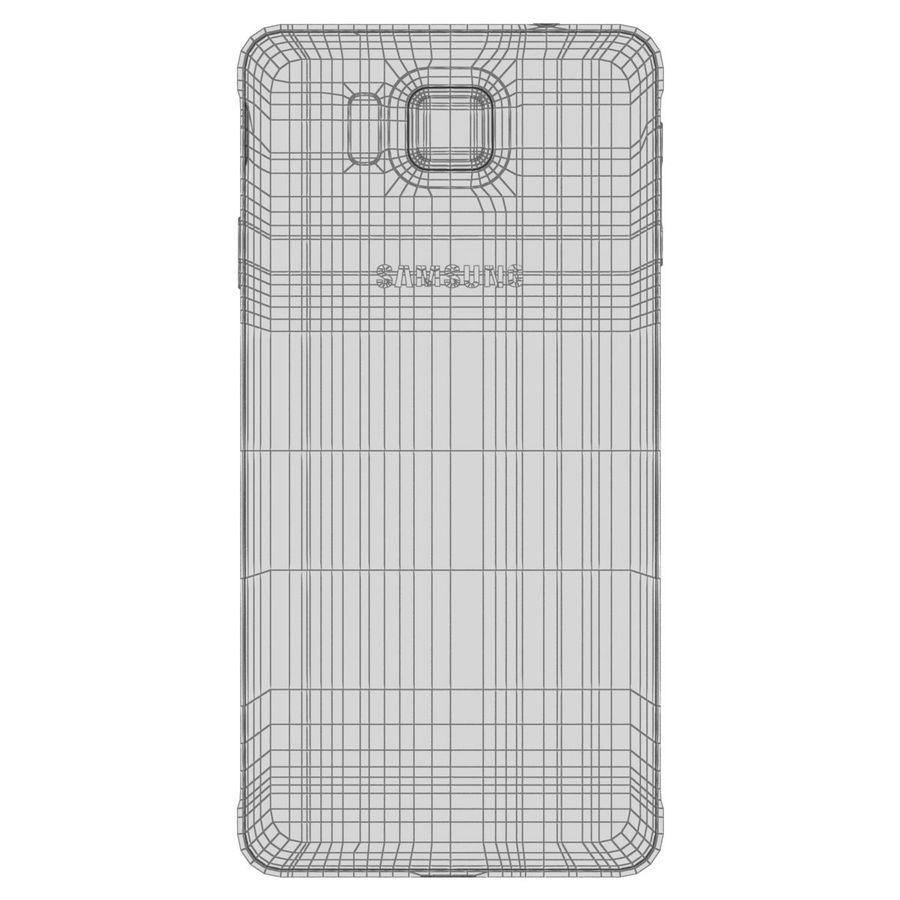 Samsung Galaxy Alpha elegante prata royalty-free 3d model - Preview no. 29