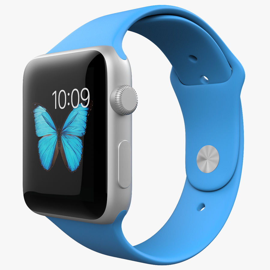 Apple Watch Sport royalty-free 3d model - Preview no. 1