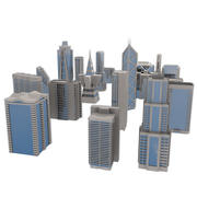 City Blocks 3d model