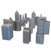 City Blocks 3d model