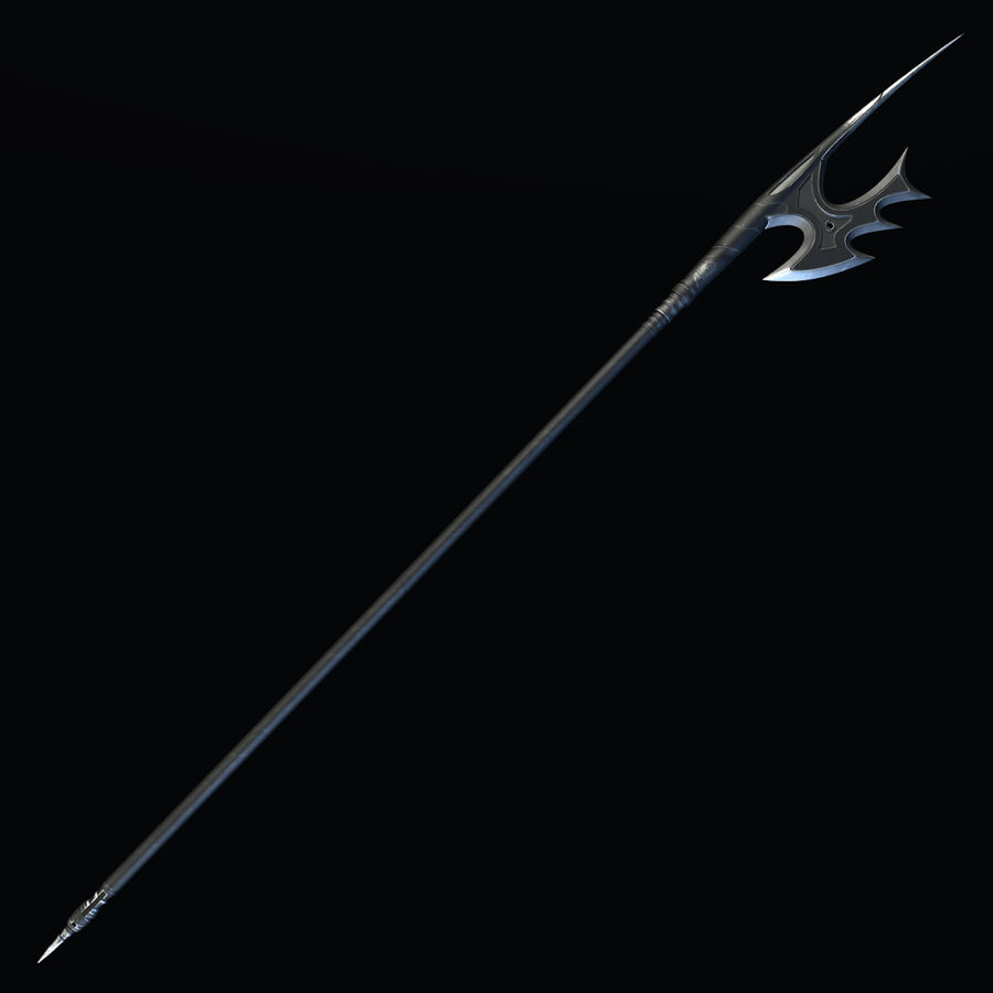 Spear royalty-free 3d model - Preview no. 2