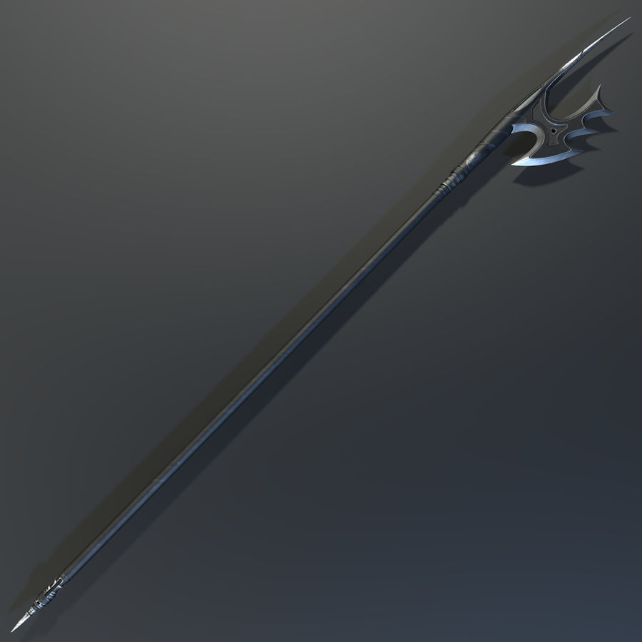 Spear royalty-free 3d model - Preview no. 5
