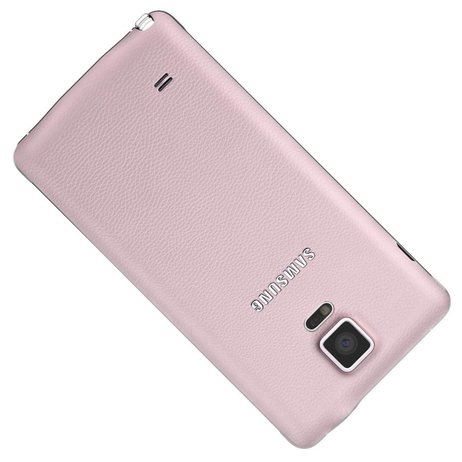 Samsung Galaxy Note 4 Blossom Pink royalty-free 3d model - Preview no. 20