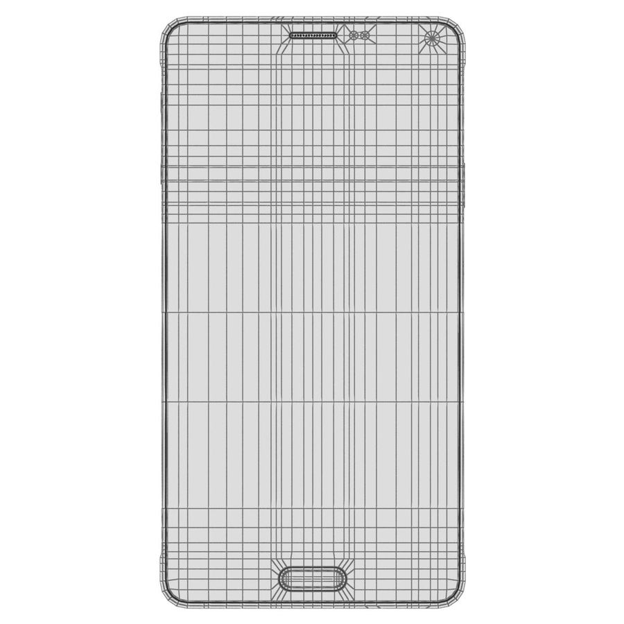 Samsung Galaxy Note 4 Blossom Pink royalty-free 3d model - Preview no. 28