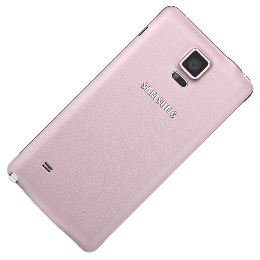 Samsung Galaxy Note 4 Blossom Pink royalty-free 3d model - Preview no. 19