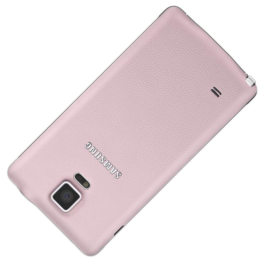 Samsung Galaxy Note 4 Blossom Pink royalty-free 3d model - Preview no. 21