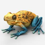 Kurbağa 3 3d model