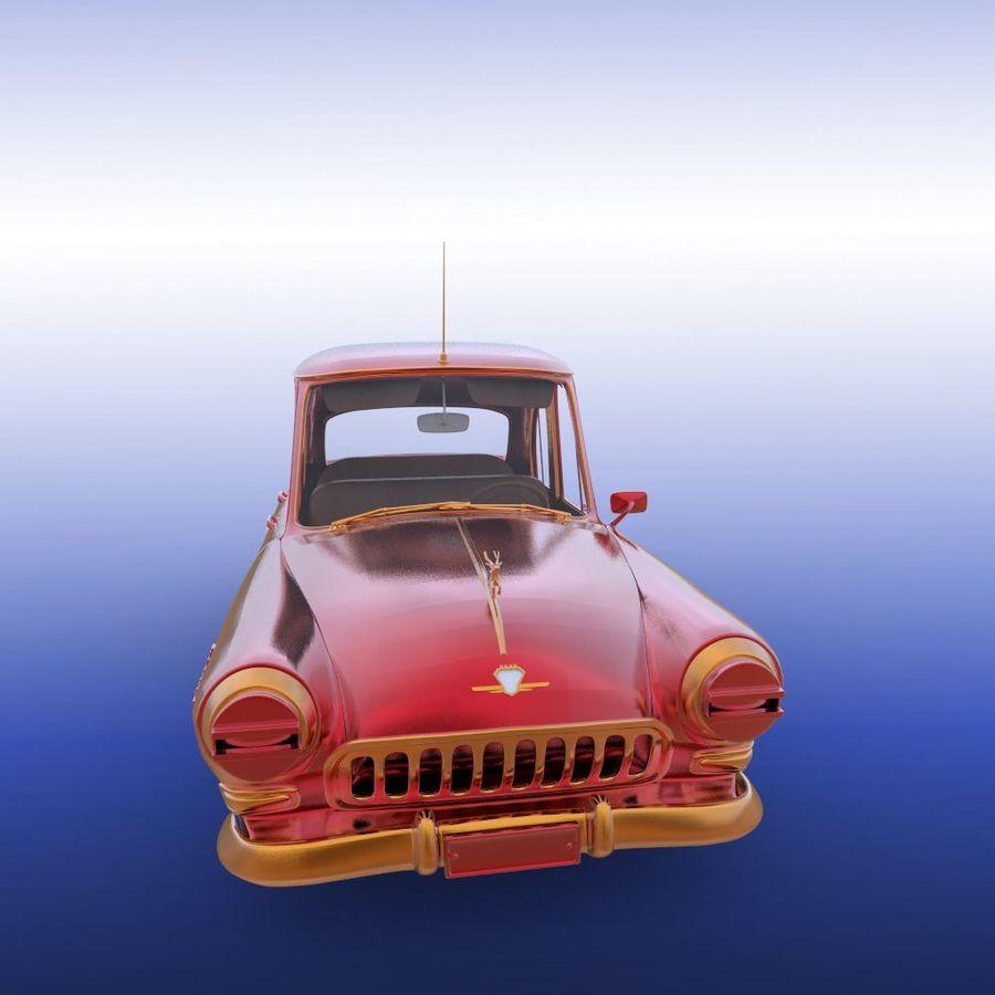 ретро автомобиль royalty-free 3d model - Preview no. 19