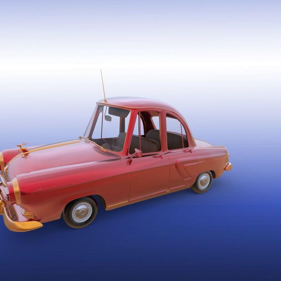 ретро автомобиль royalty-free 3d model - Preview no. 16