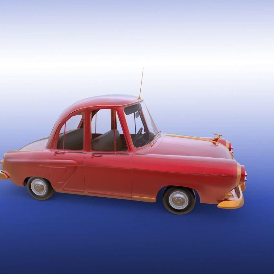 ретро автомобиль royalty-free 3d model - Preview no. 22