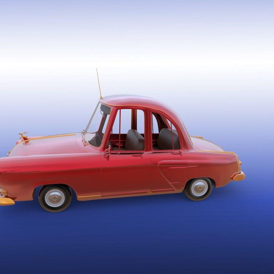 ретро автомобиль royalty-free 3d model - Preview no. 15