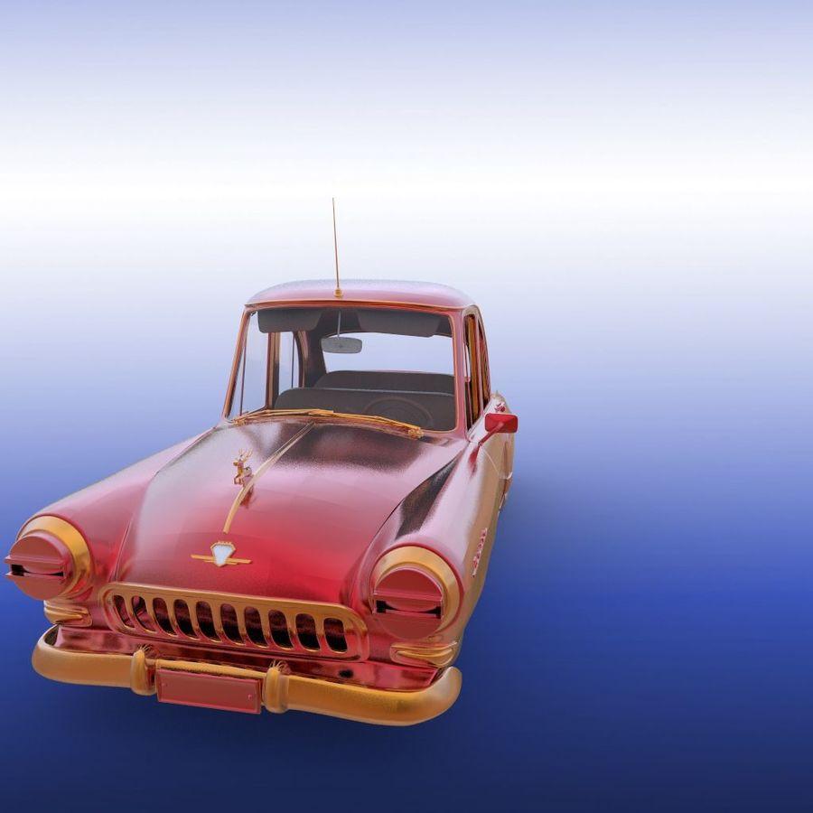 ретро автомобиль royalty-free 3d model - Preview no. 18