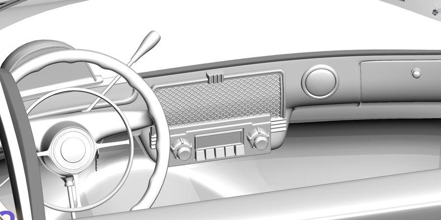 ретро автомобиль royalty-free 3d model - Preview no. 4