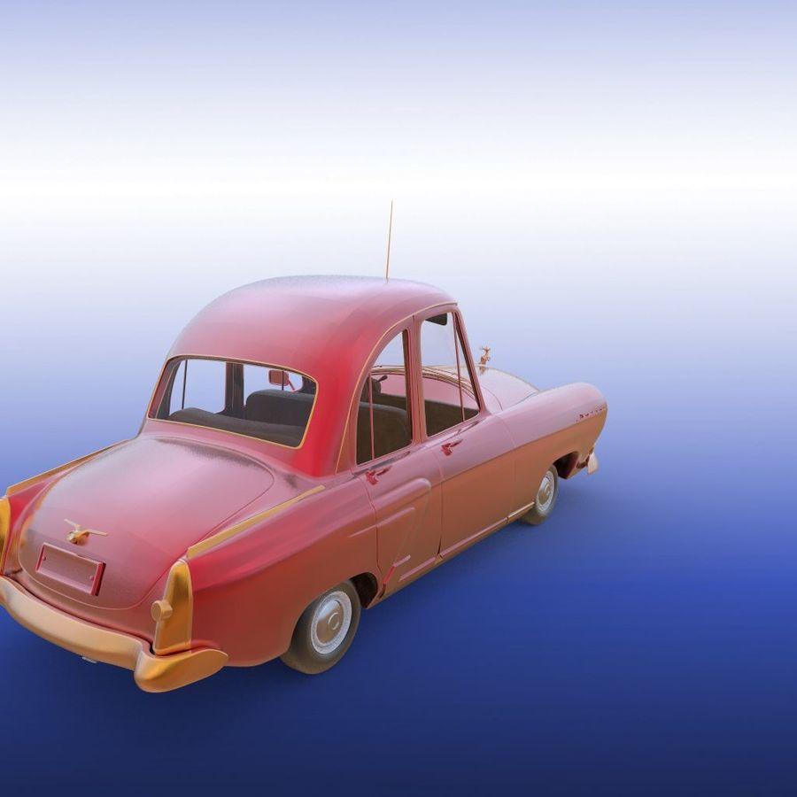 ретро автомобиль royalty-free 3d model - Preview no. 25