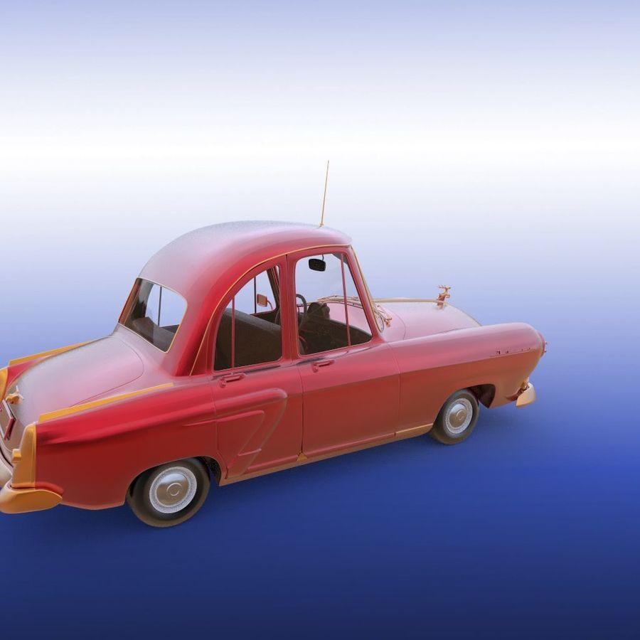 ретро автомобиль royalty-free 3d model - Preview no. 24
