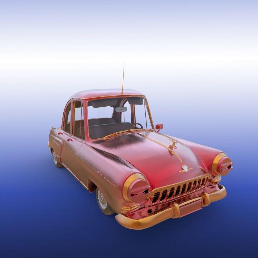 ретро автомобиль royalty-free 3d model - Preview no. 20