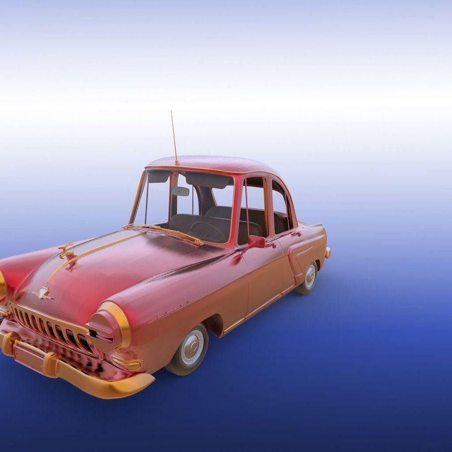 ретро автомобиль royalty-free 3d model - Preview no. 17