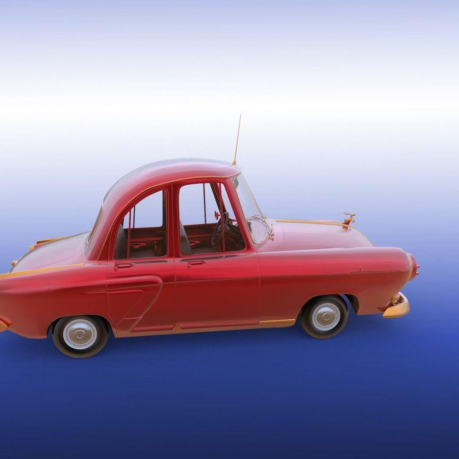 ретро автомобиль royalty-free 3d model - Preview no. 23