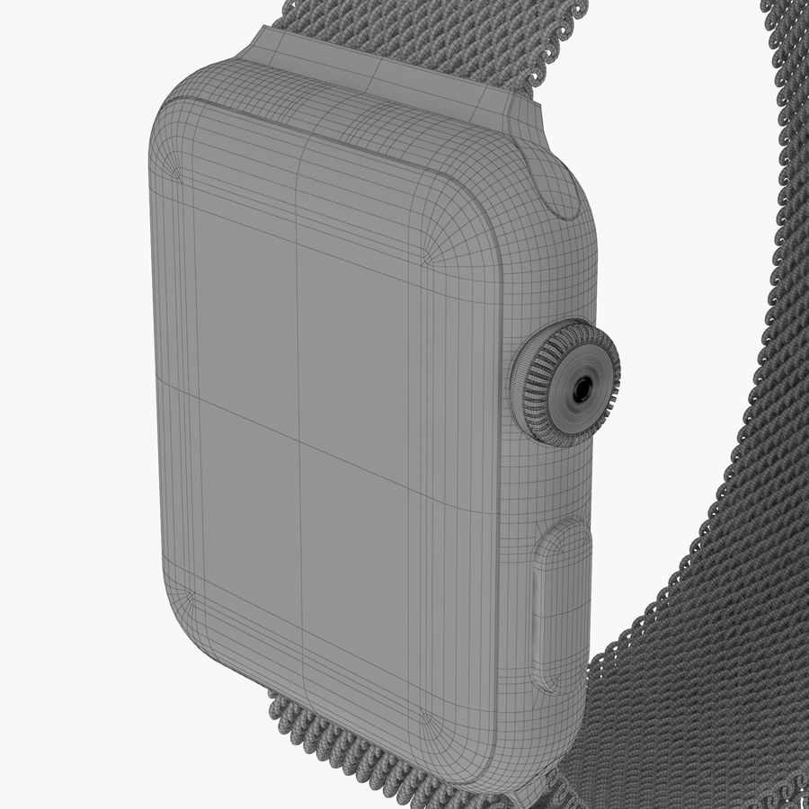 Apple Watch royalty-free 3d model - Preview no. 26