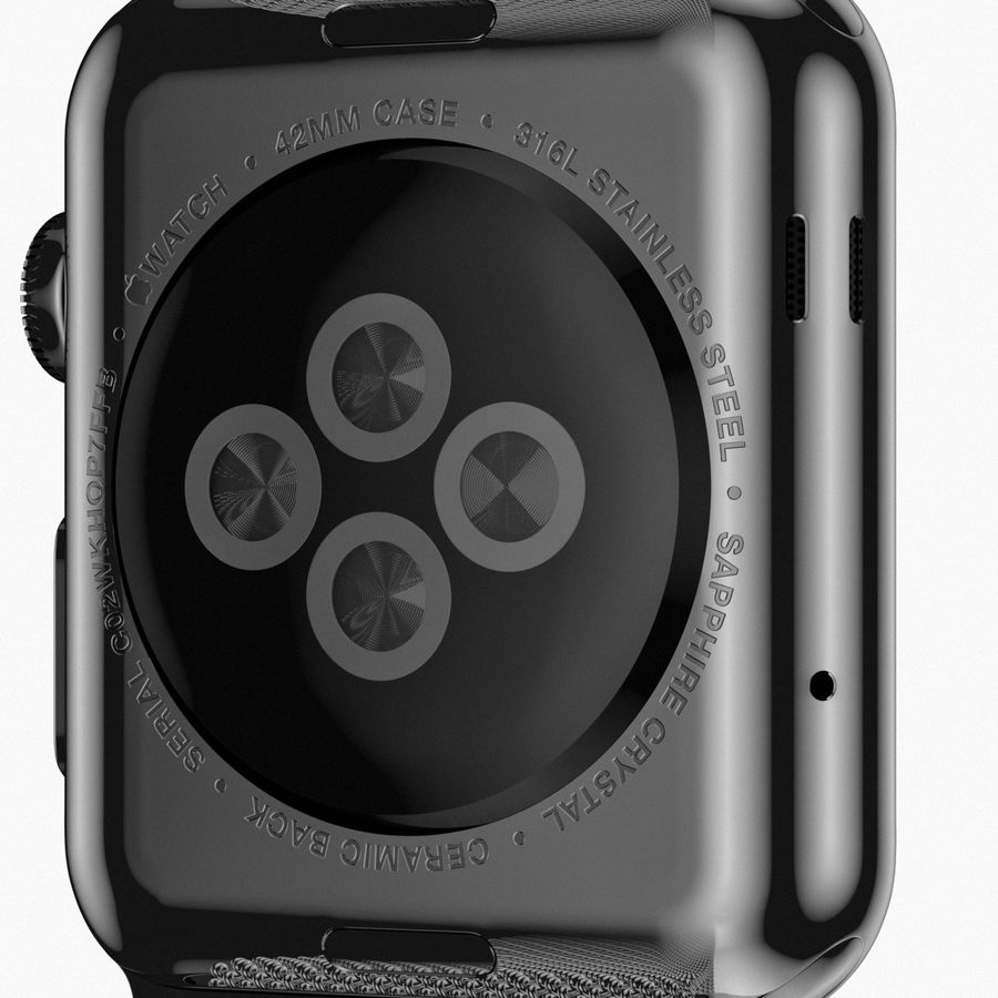 Apple Watch royalty-free 3d model - Preview no. 13