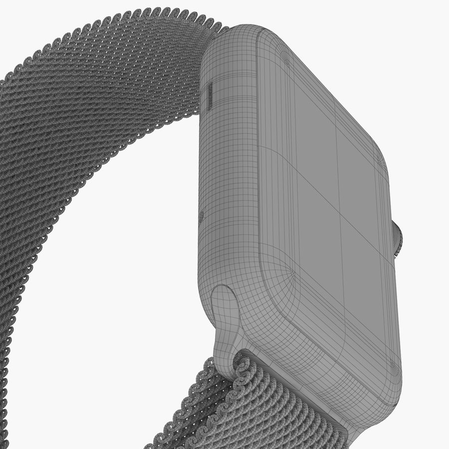 Apple Watch royalty-free 3d model - Preview no. 27