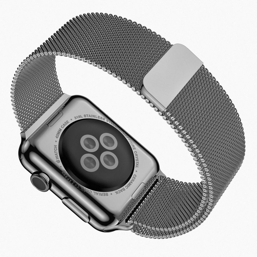 Apple Watch royalty-free 3d model - Preview no. 16