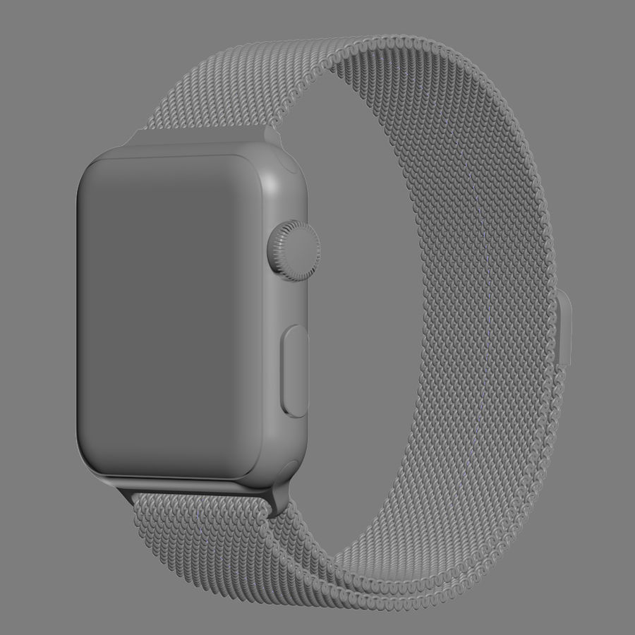 Apple Watch royalty-free 3d model - Preview no. 32