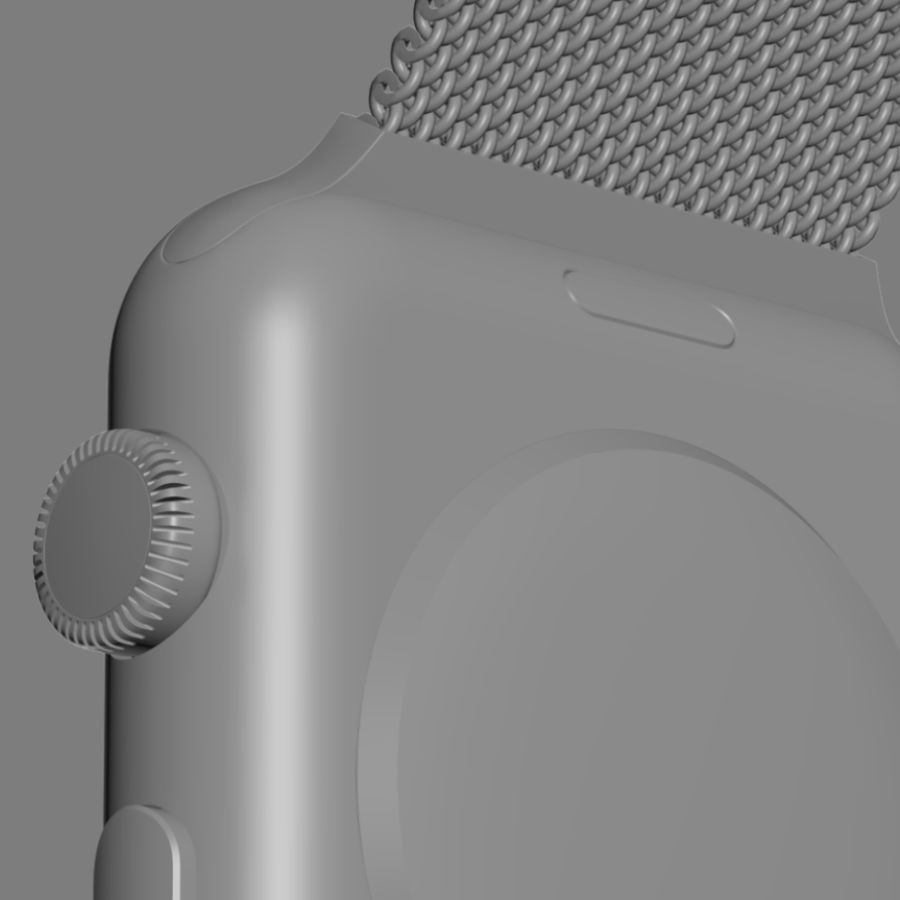 Apple Watch royalty-free 3d model - Preview no. 34