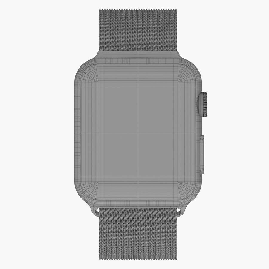 Apple Watch royalty-free 3d model - Preview no. 22