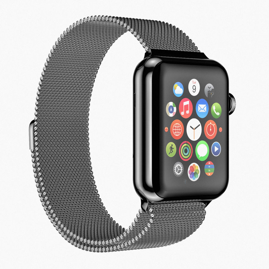 Apple Watch royalty-free 3d model - Preview no. 9