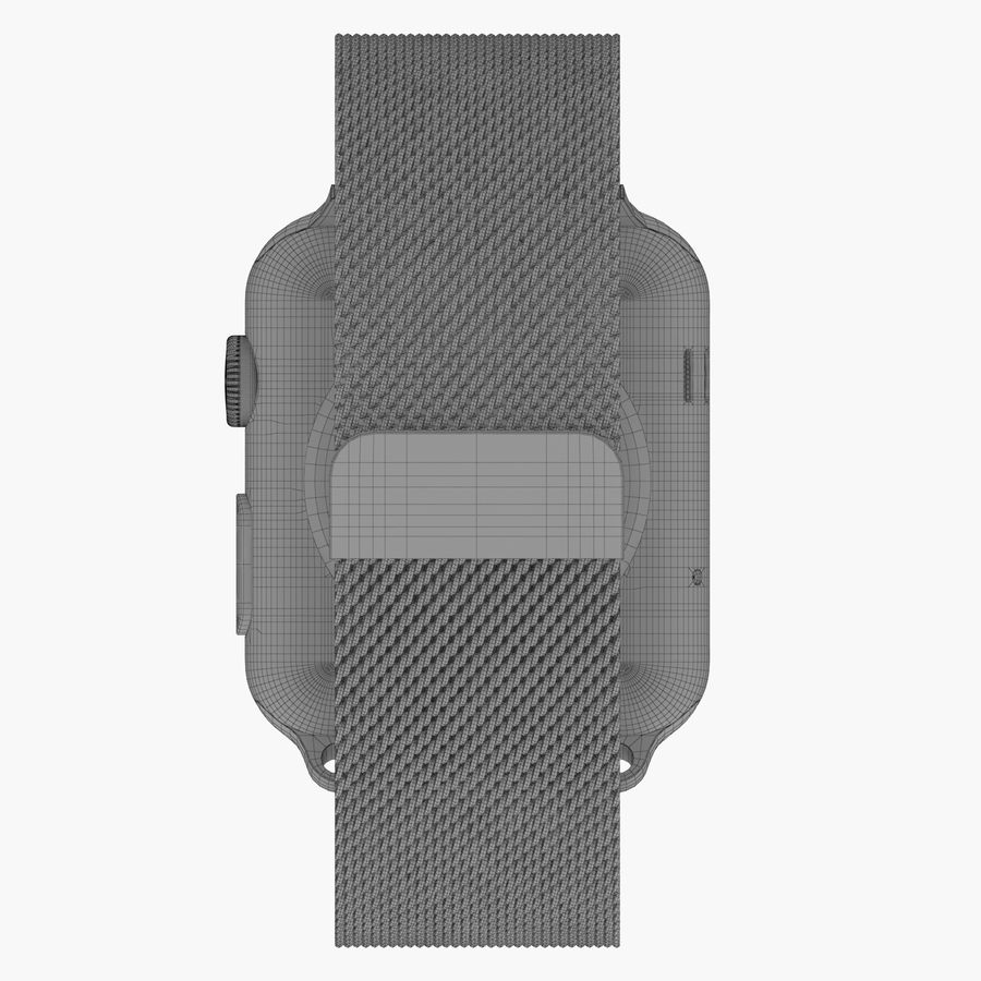 Apple Watch royalty-free 3d model - Preview no. 23