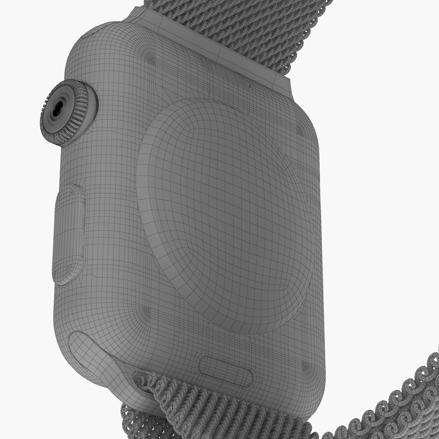 Apple Watch royalty-free 3d model - Preview no. 28
