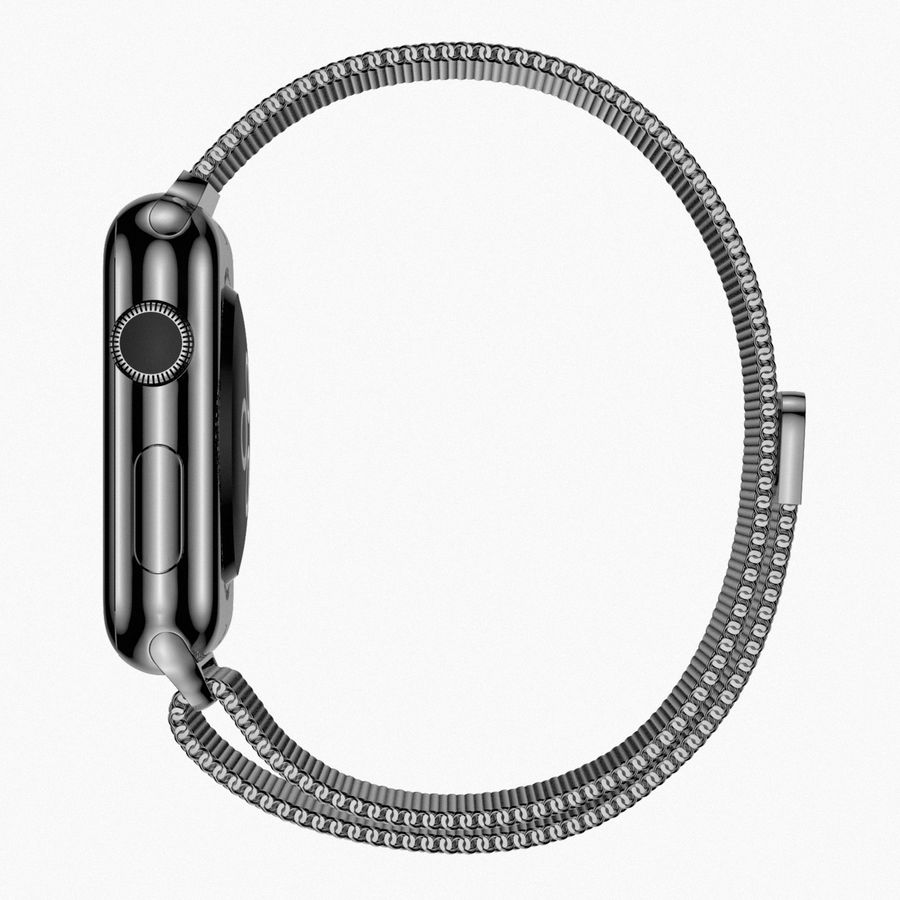 Apple Watch royalty-free 3d model - Preview no. 10
