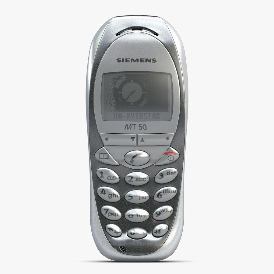 Siemens Мобильный телефон royalty-free 3d model - Preview no. 1