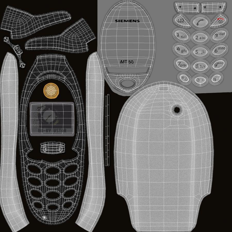 Siemens Мобильный телефон royalty-free 3d model - Preview no. 7