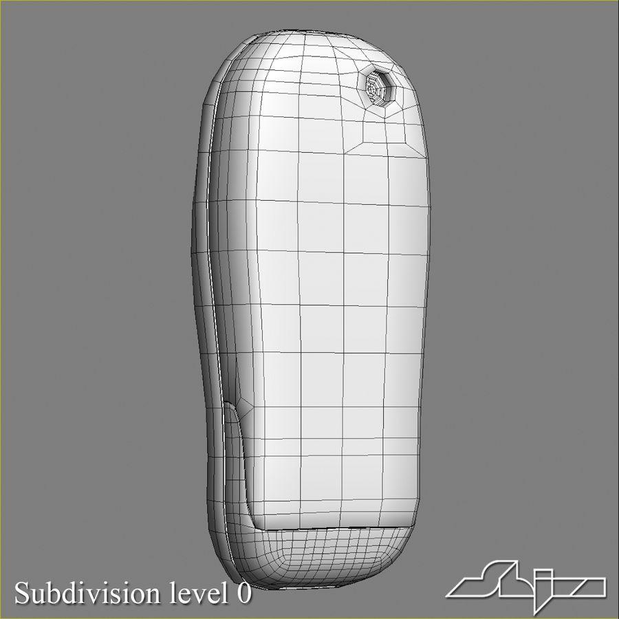 Siemens Мобильный телефон royalty-free 3d model - Preview no. 10