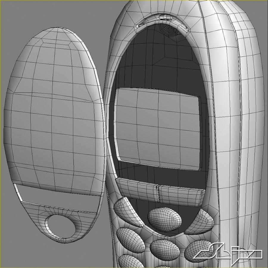 Siemens Мобильный телефон royalty-free 3d model - Preview no. 14