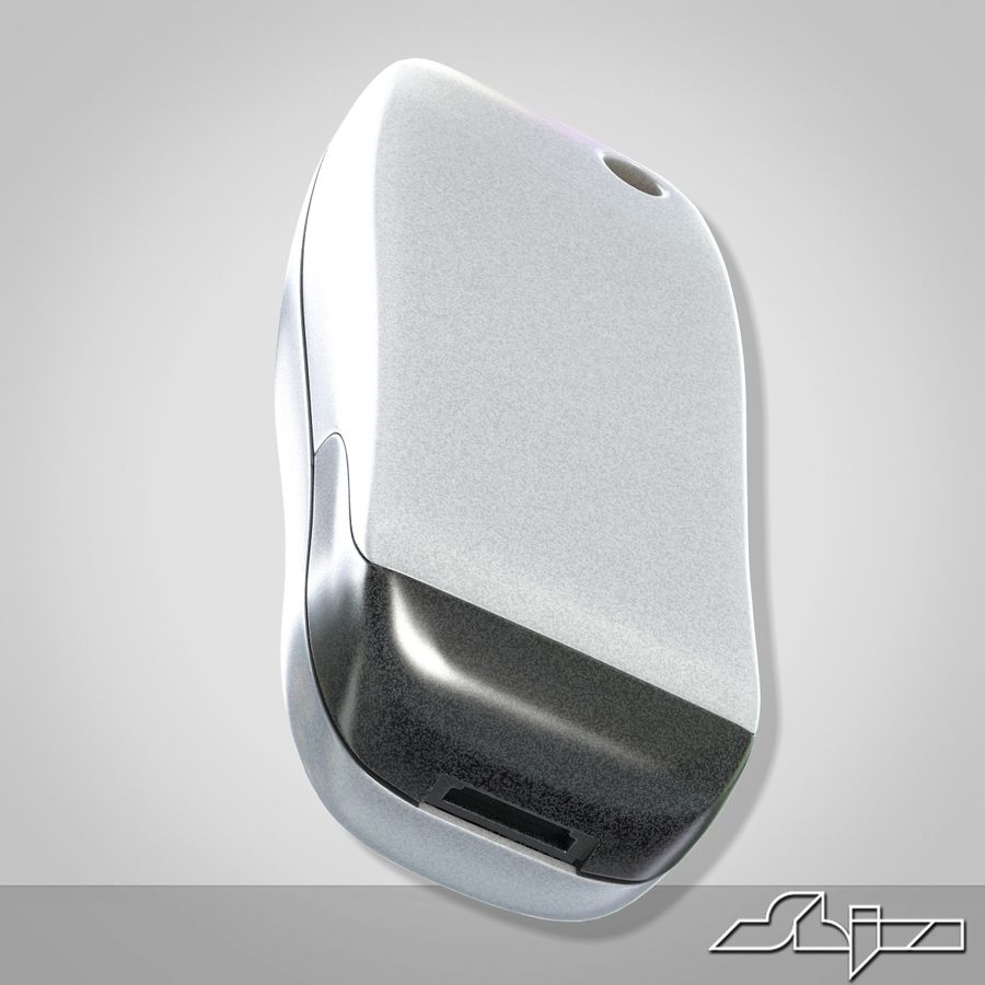 Siemens Мобильный телефон royalty-free 3d model - Preview no. 6