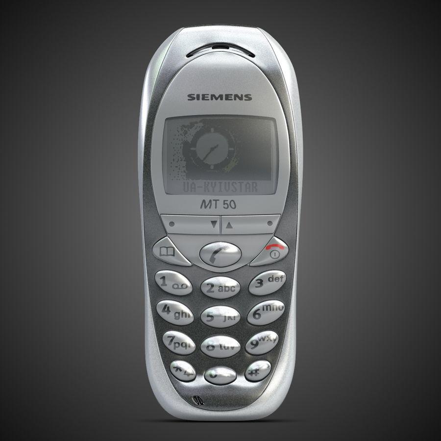 Siemens Мобильный телефон royalty-free 3d model - Preview no. 2