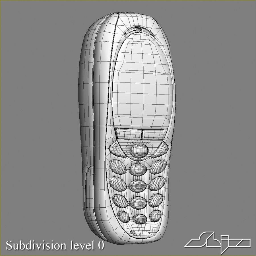 Siemens Мобильный телефон royalty-free 3d model - Preview no. 8