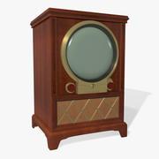 1950年代のビンテージテレビ 3d model
