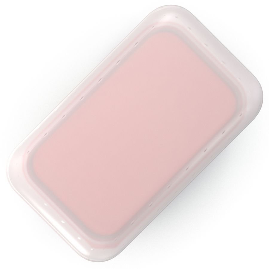 Plastic Food Containers royalty-free 3d model - Preview no. 9