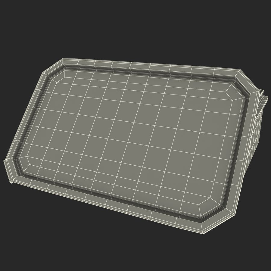 Plastic Food Containers royalty-free 3d model - Preview no. 29