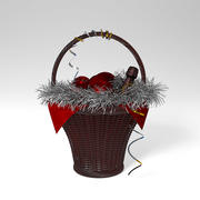 Christmas Basket 3d model