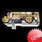 3D Floor Plan 3d model